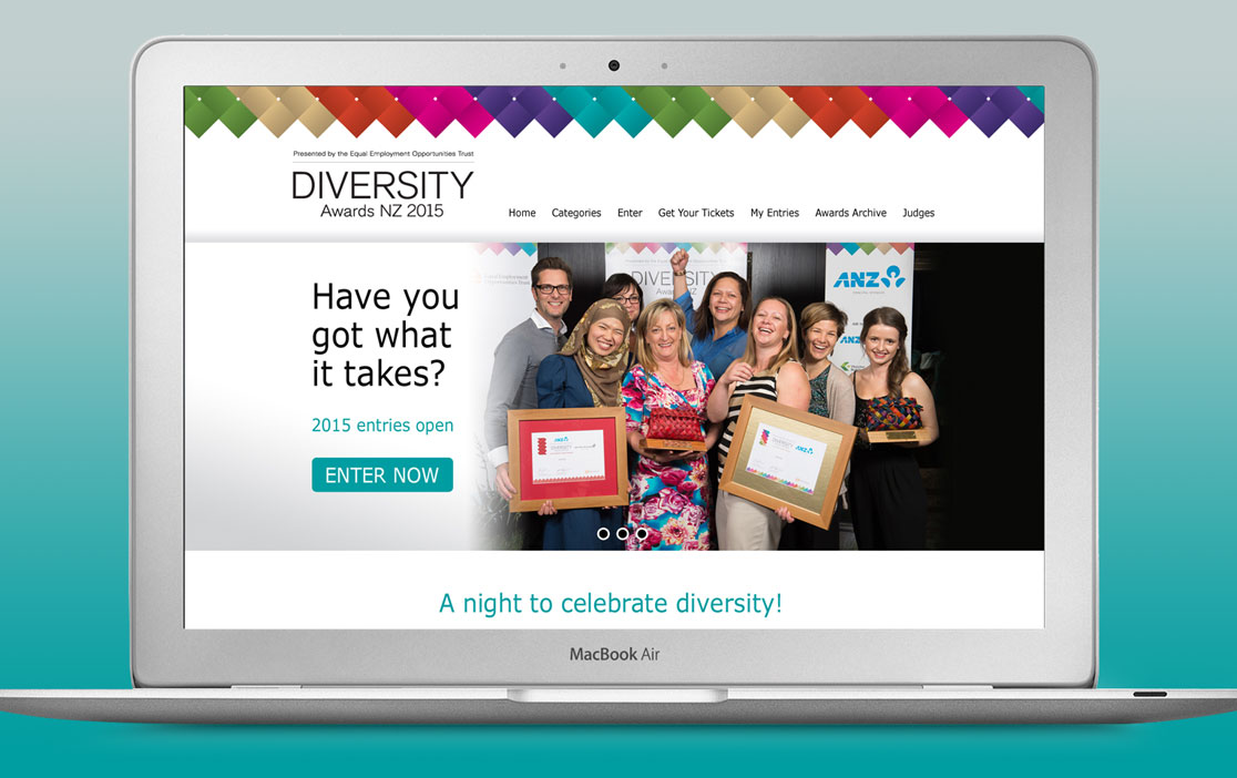 Diversity Awards Website